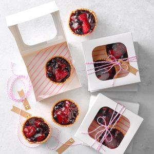 Triple Berry Mini Pies