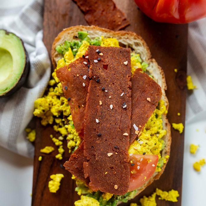 plant-based meat brands Uptons Naturals Vegan Bacon