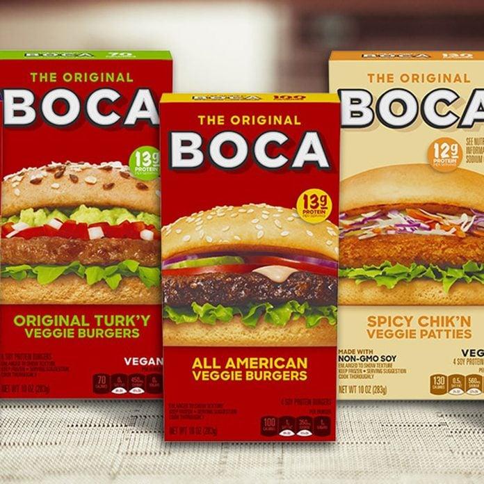 Boca Burger plant-based meat brands