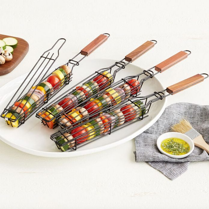 grilling gifts Kabob Grilling Baskets