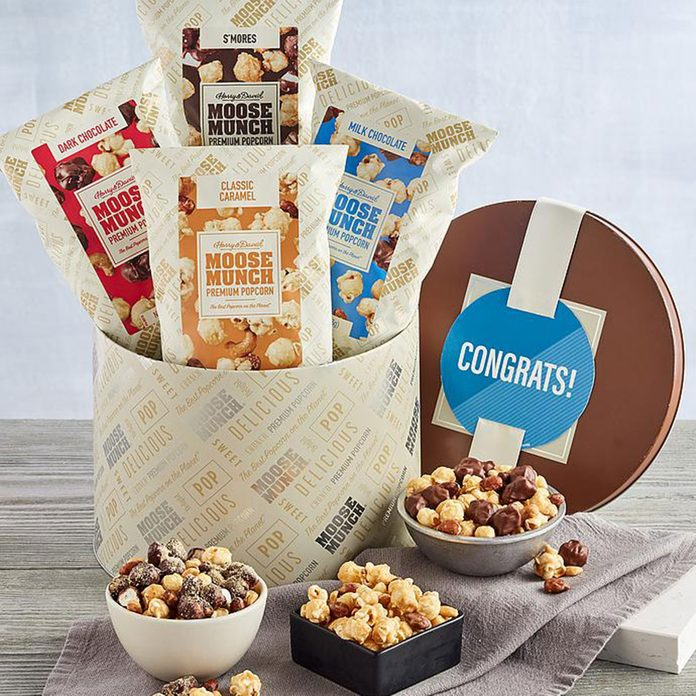 graduation gift ideas Moose Munch Gourmet Popcorn 1