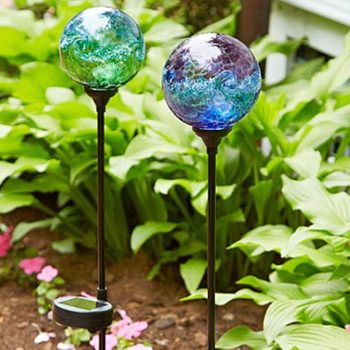 gardening gifts for dad Starry Night Solar Stake
