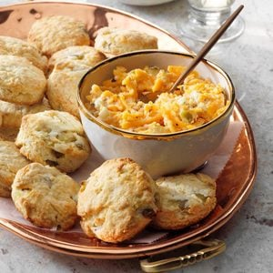 Biscuits with Southern Cheese Spread