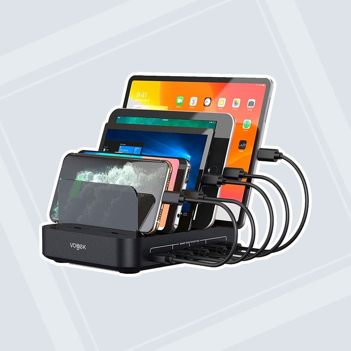 gifts for people who have everything Charging Organizer Identification Smartphones Tablets