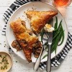 Chicken Marsala en Croute