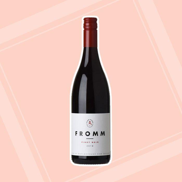 Fromm Pinot Noir bridal shower wine