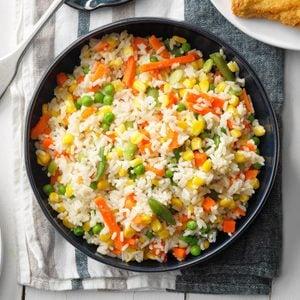 Mixed Veggies and Rice