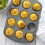 Muffin-Tin Scrambled Eggs