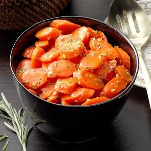 Orange Rosemary Carrots