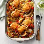 Roasted Tuscan Chicken Dinner