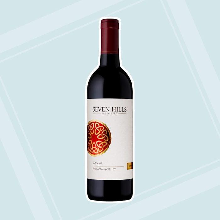 bridal shower wine Seven Hills Wwv Merlot