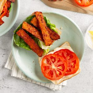 Smoky Tempeh Bacon