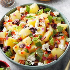 Zesty Mediterranean Potato Salad
