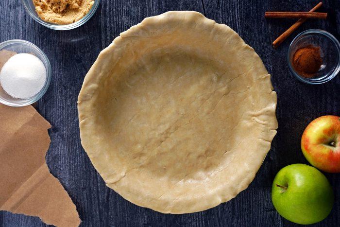 Apple Pie In A Bag Prepare the crust