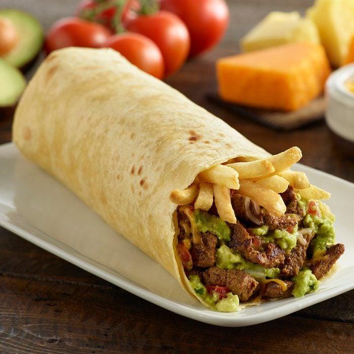 Carne Asada Beef And Guacamole Burrito
