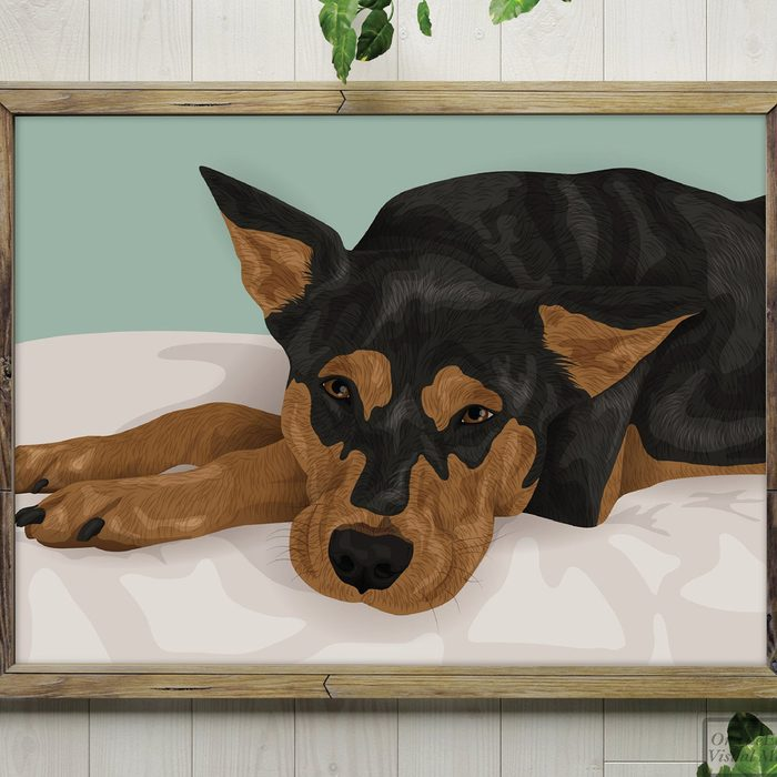 gifts for people who have everything Custom Pet Portrait Gift For Pet Lover