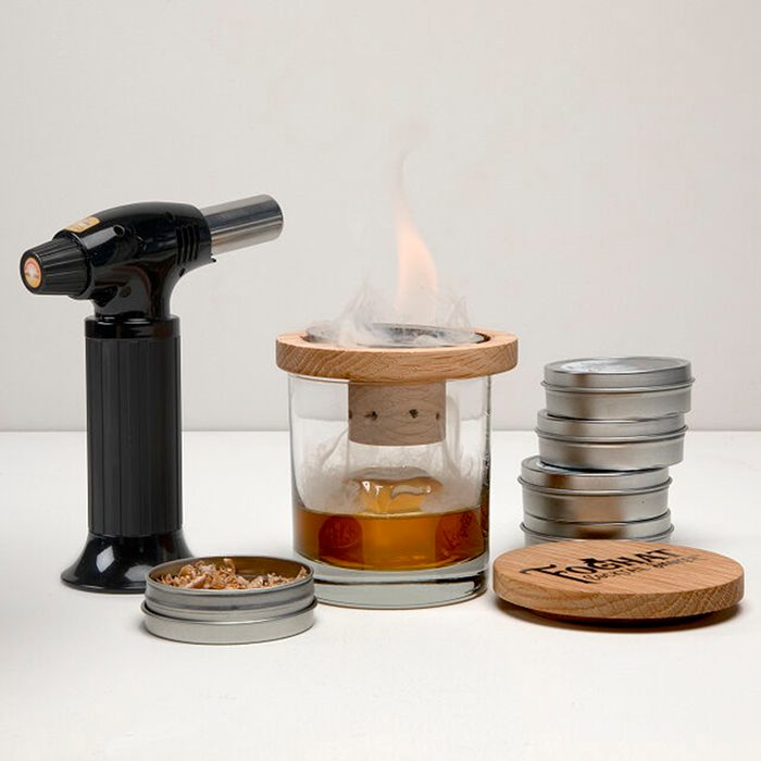 gifts for people who have everything Glass Topper Cocktail Smoker
