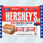 Hershey's Just Dropped a RED, WHITE and BLUE Candy Bar—Perfect for Patriotic S'mores