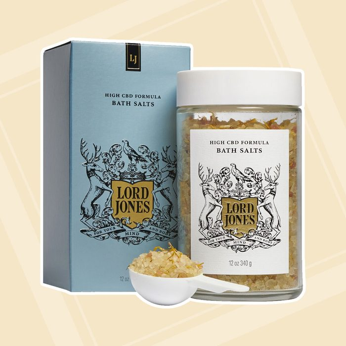 gifts for people who have everything High Cbd Formula Bath Salts