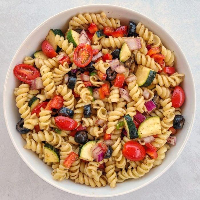 Quick And Easy Vegan Pasta Salad