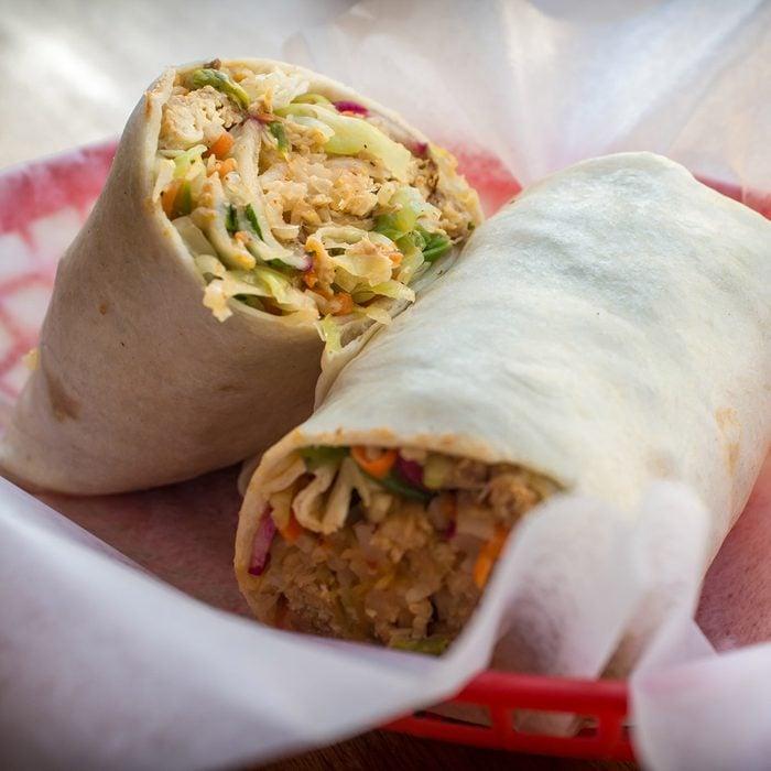 types of burritos Korean Bibimbap Burrito