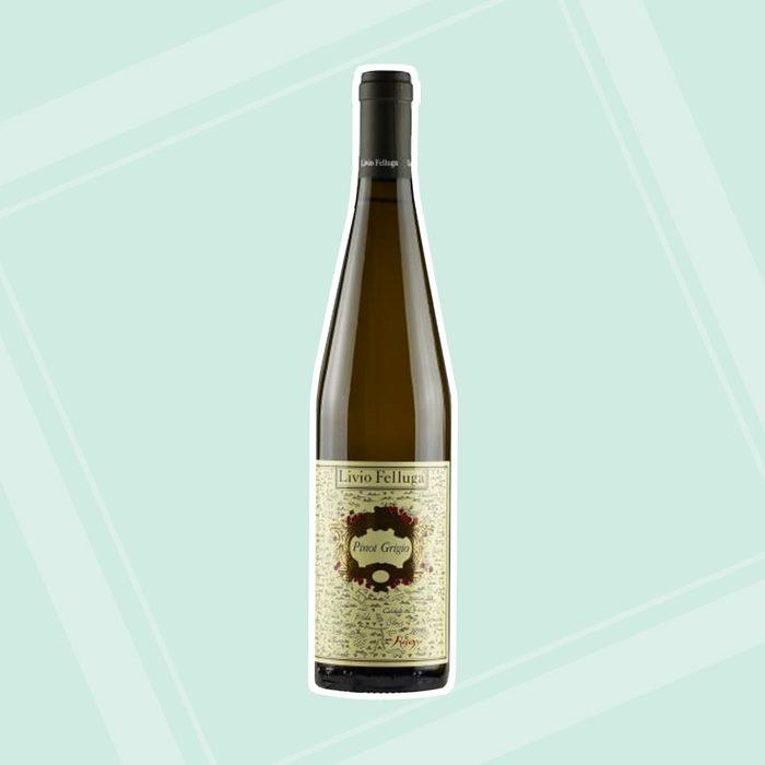bridal shower wine Livio Felluga Pinot Grigio