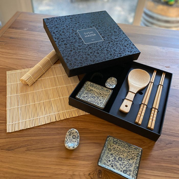 gifts for people who have everything Sushi Master Set 12 Piece Sushi Making