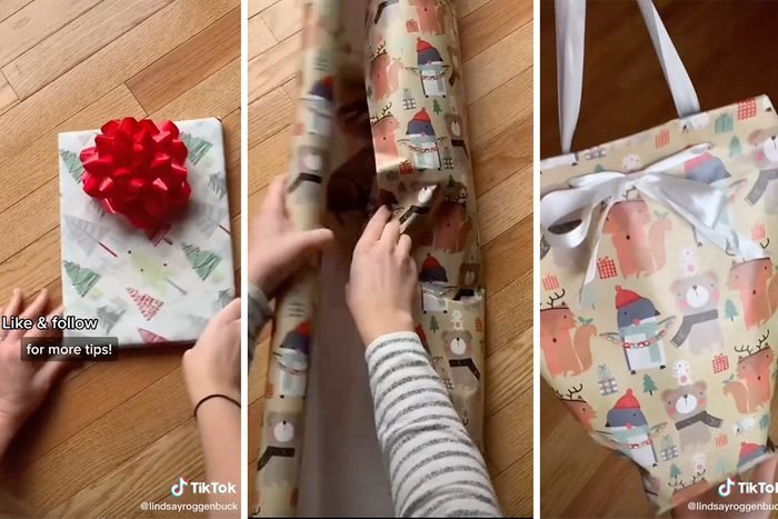 Tiktok How to Wrap a Gift