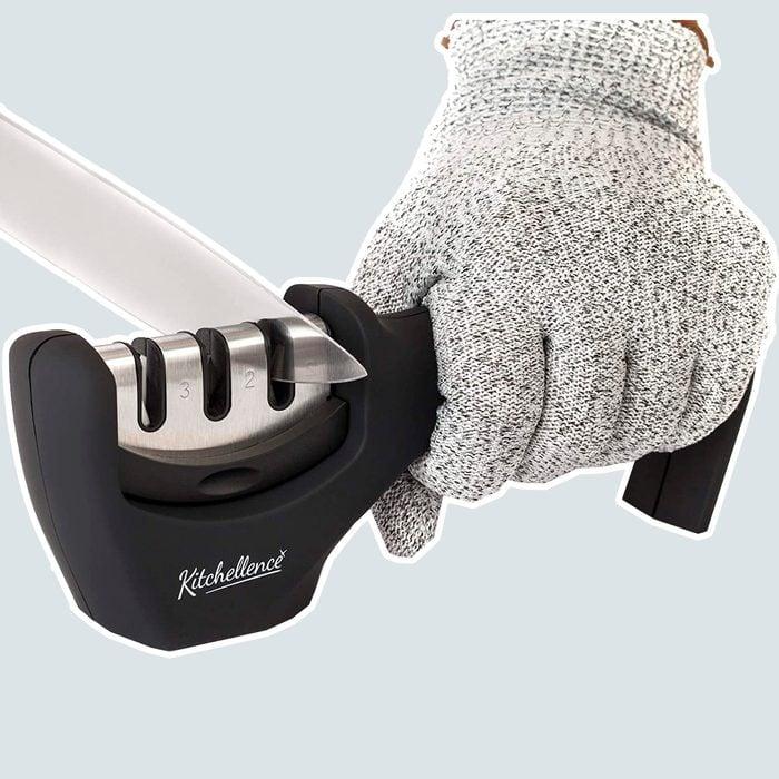cheap small kitchen appliances Kitchen Knife Sharpener Sharpening Cut Resistant 1 Copy