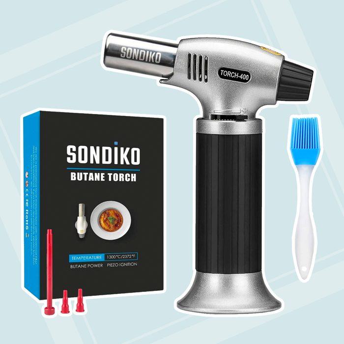Sondiko Culinary Refillable Adjustable Desserts kitchen torch