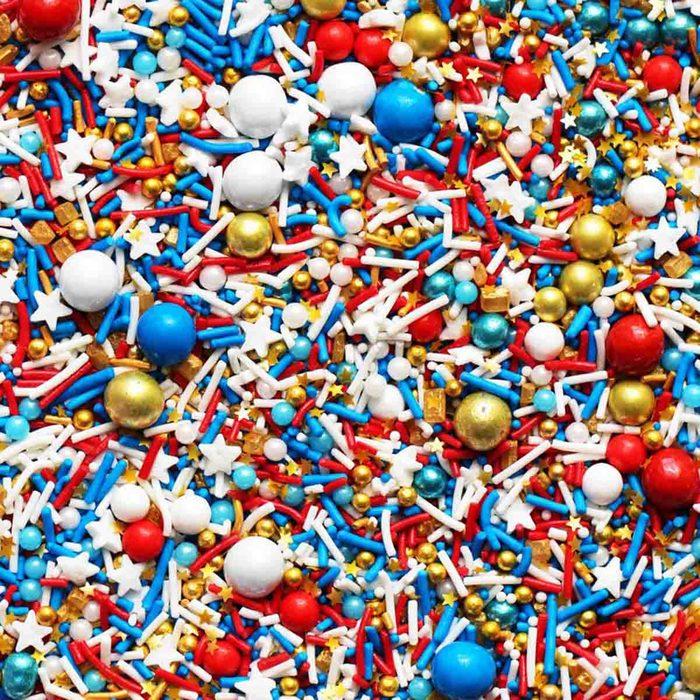 americana kitchen Golden Eagle Sprinkles