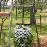 How to Make a DIY Laundry Basket Strawberry Planter for Summer