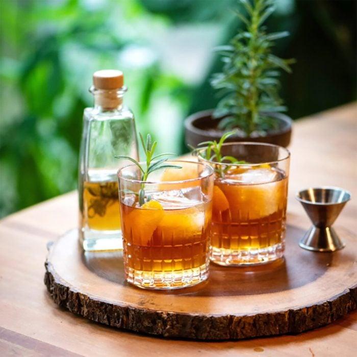 Rosemary And Honey Whiskey