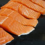 If You See White Stuff on Your Salmon, This Is What It Means