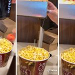 This Genius Hack Will Completely Change the Way You Butter Movie Theater Popcorn
