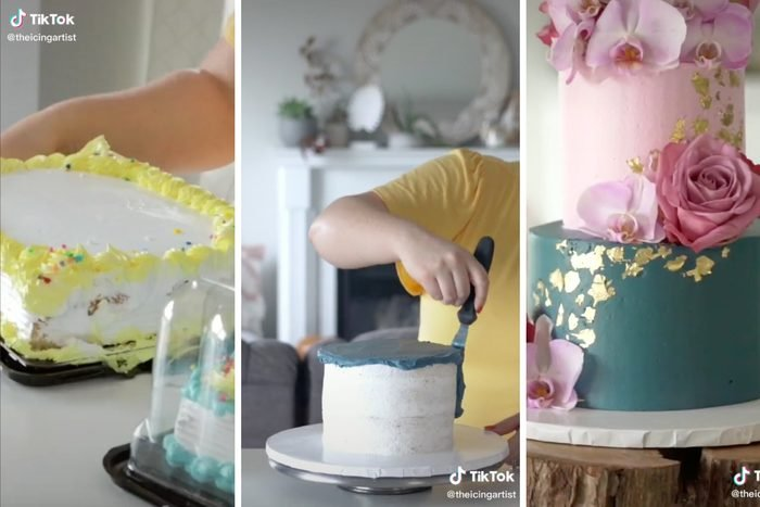 Tiktok Grocery Store Wedding Sheet Cake Transformation