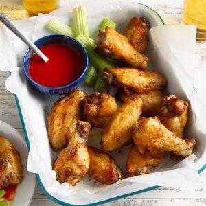Air-Fryer Chicken Wings