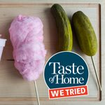 This Is How to Make Cotton Candy Pickles at Home