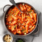 Glazed Marsala Carrots with Hazelnuts