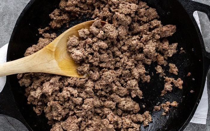 How To Brown Ground Beef.taste Of Home.nancy Mock 7