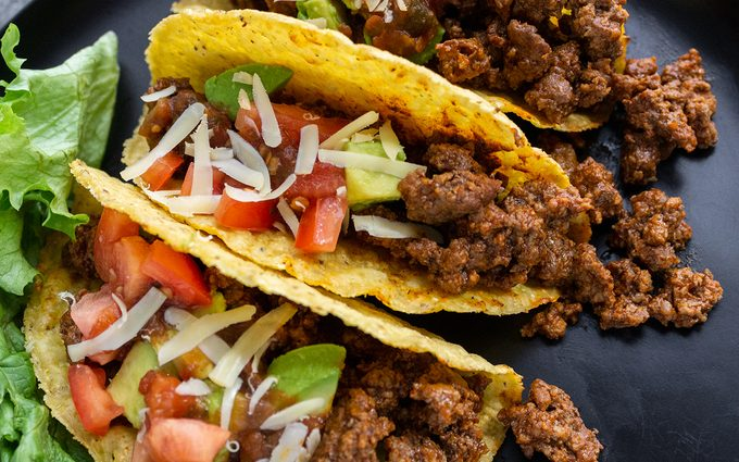 ground beef tacos How To Brown Ground Beef.taste Of Home.nancy Mock 8