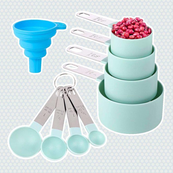 Nesting Measure Stainless Ingredient Pancake Tools