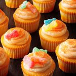 Sour Candy Cupcakes