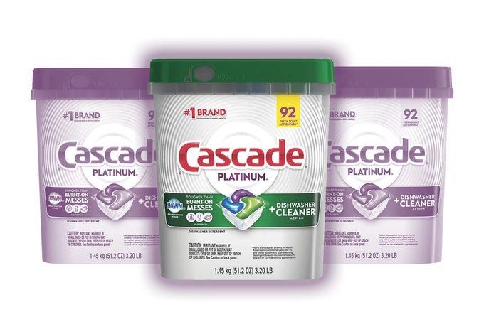Cascade Platinum ActionPacs Dishwasher Detergent with Dawn, Fresh Scent - 92 Count