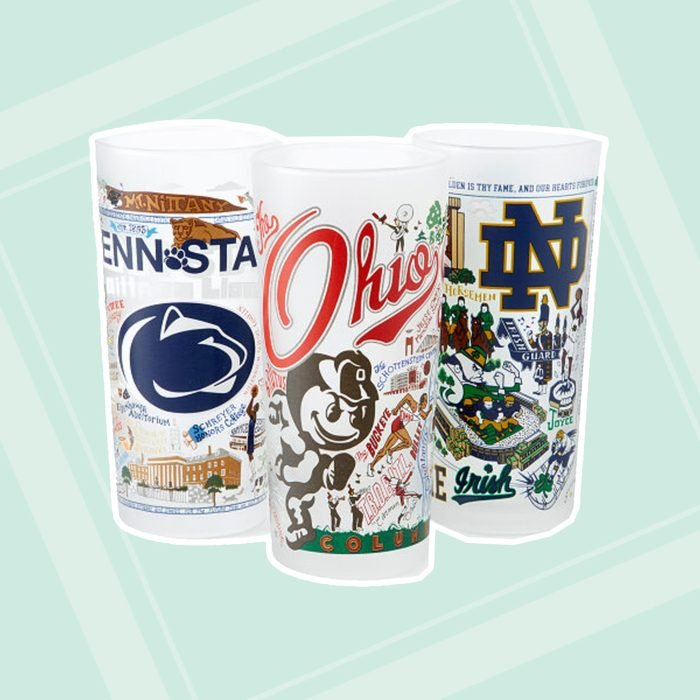 gifts for college students College Campus Glass