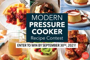 Modern Pressure Cooker Recipe Contest