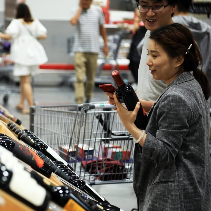 costco alcohol Crowds Flock To Costco Store In Shanghai