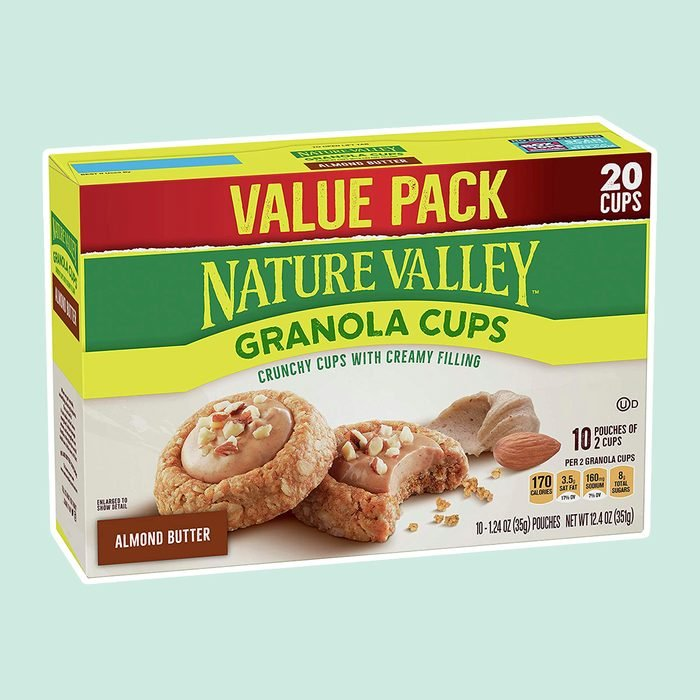 Nature Valley Granola Cups, Almond Butter, 12.4 oz, 20 ct