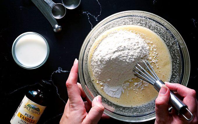 Mix cake batter Homemade Twinkies recipe