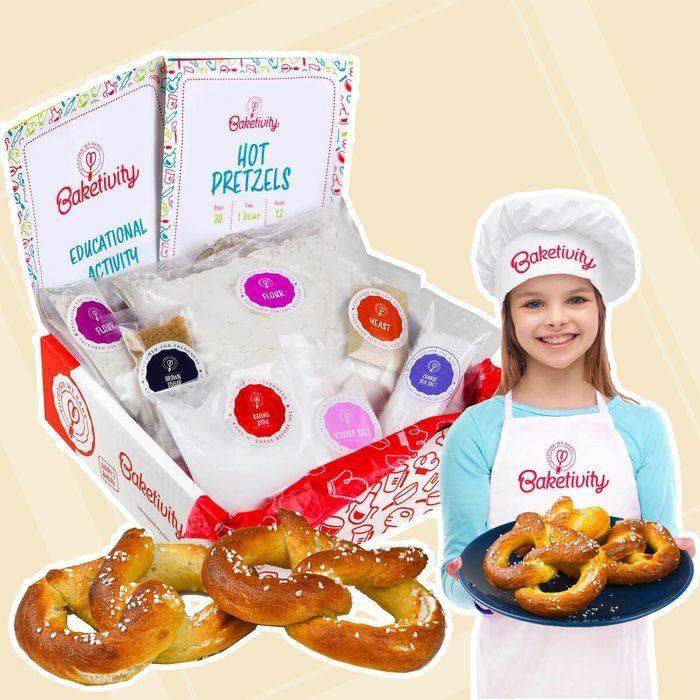Hot Pretzels Kit back to school gifts for kids